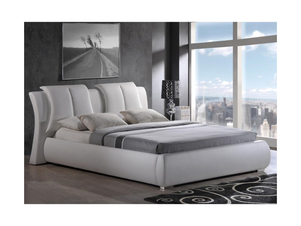 Global Furniture 8269Padded Queen Bed