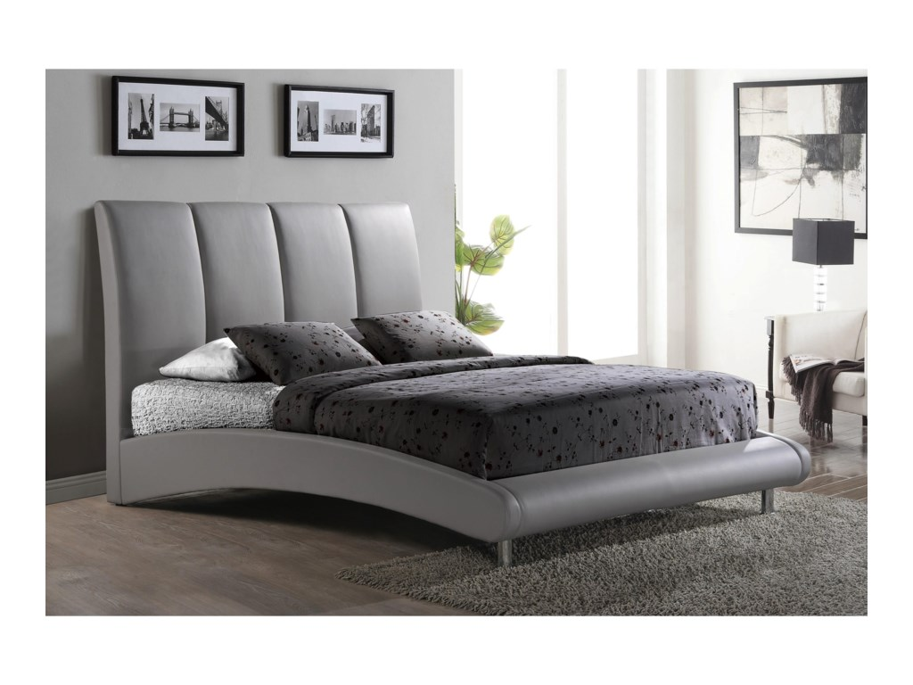 Global Furniture 8272Arched King Bed