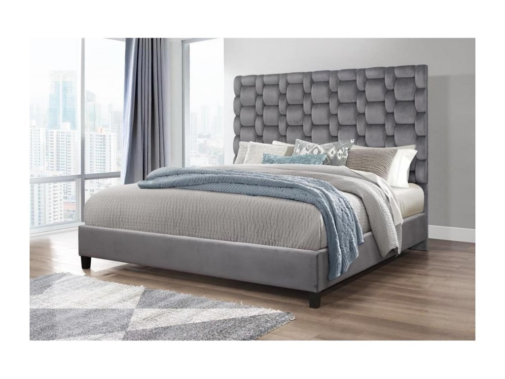 Global Furniture 8820King Bed