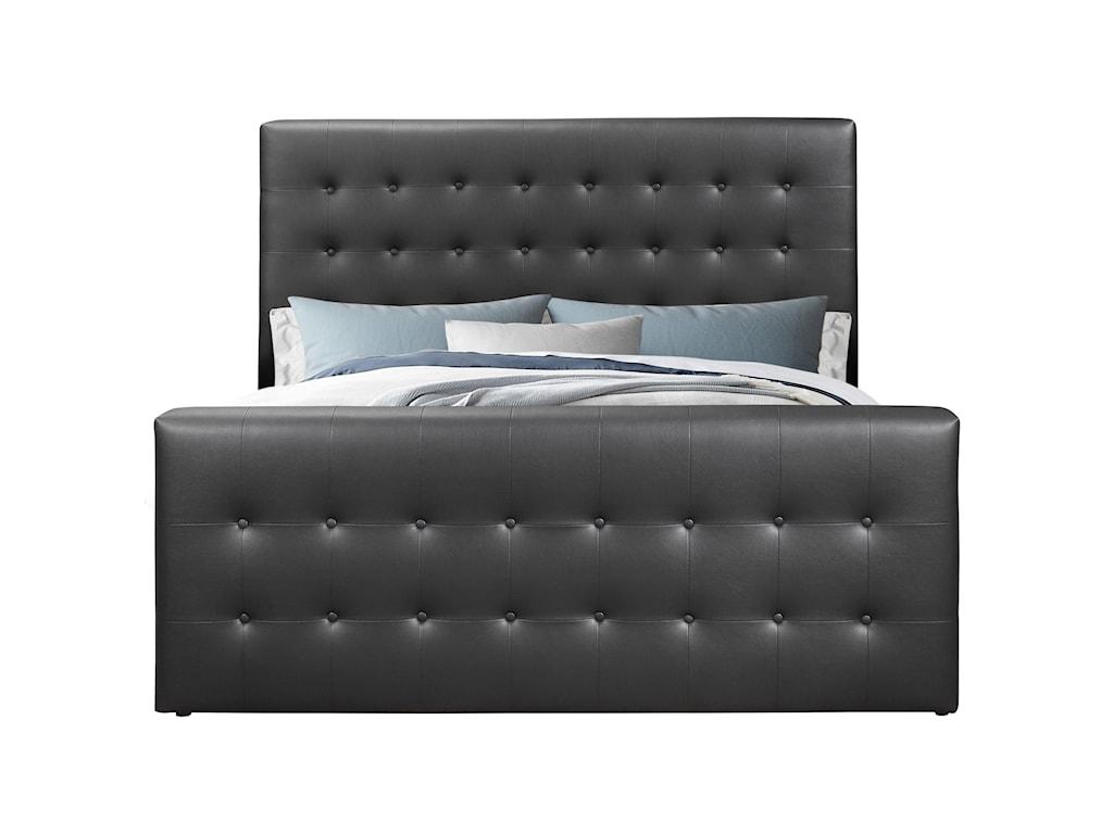 Global Furniture 9088Queen Bed