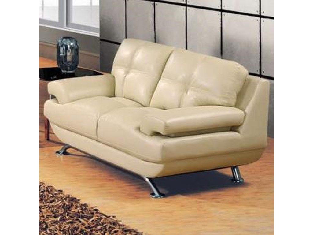 Global Furniture 9108Contemporary Love Seat
