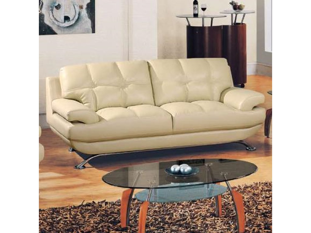 Global Furniture 9108Contemporary Sofa