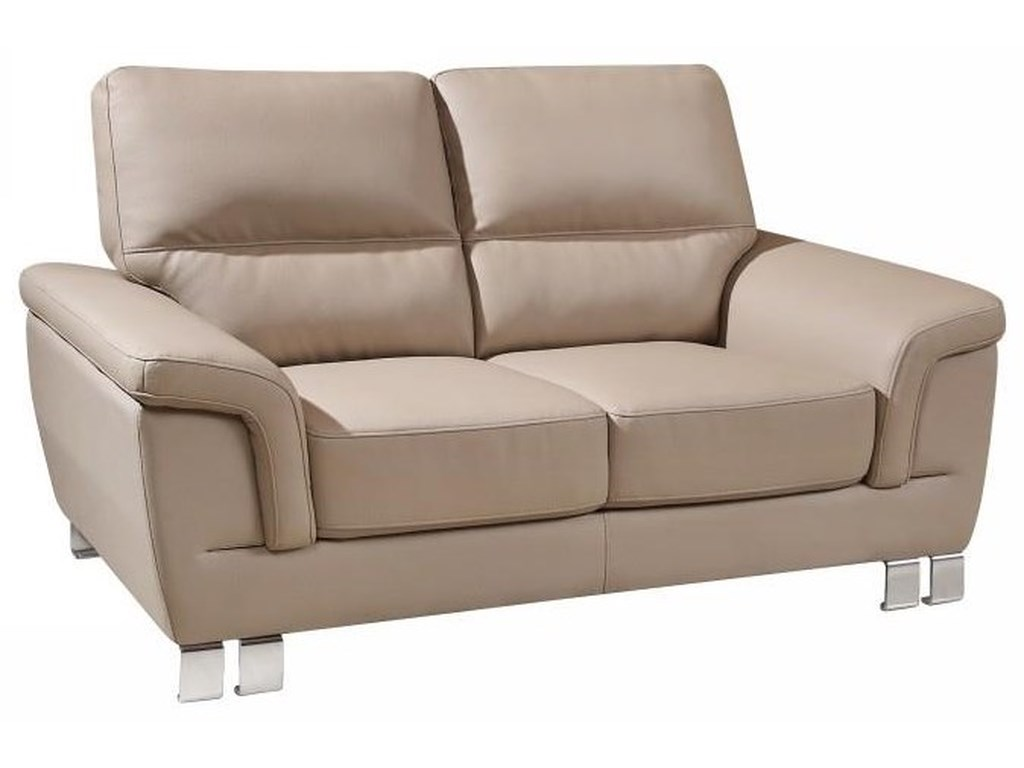 Global Furniture 9412Beige Love Seat