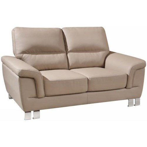Global Furniture 9412 9412 - Beige Love Seat