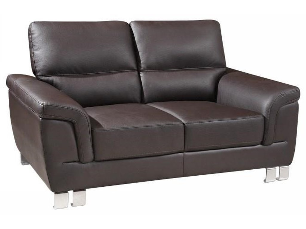 Global Furniture 9412Brown Love Seat