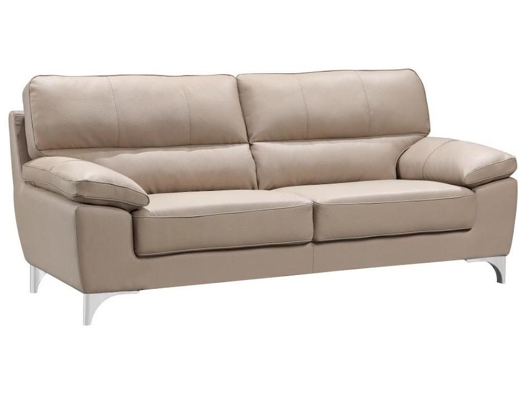 Global Furniture 9436Beige Sofa