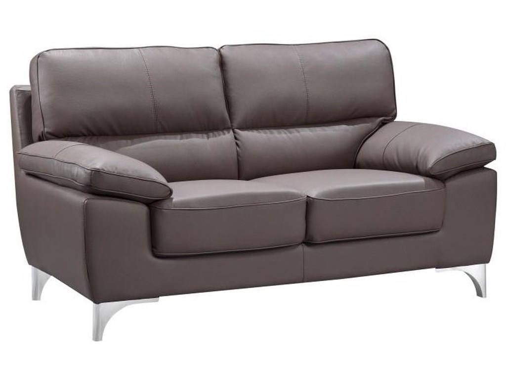 Global Furniture 9436Brown Love Seat