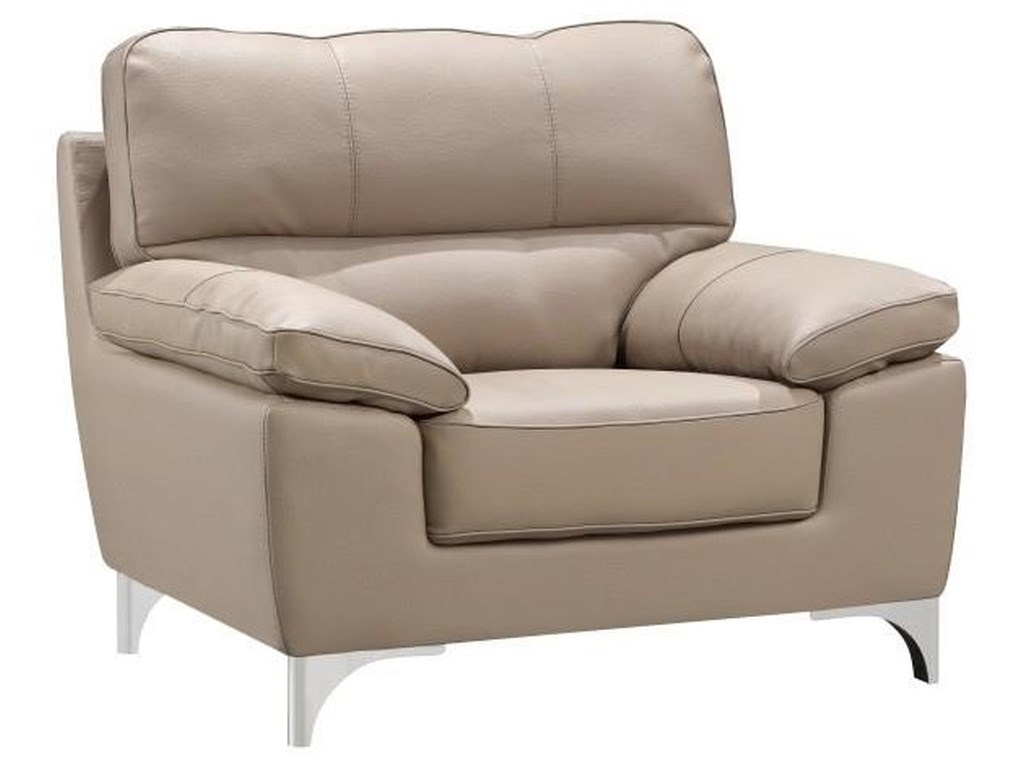 Global Furniture 9436Beige Chair