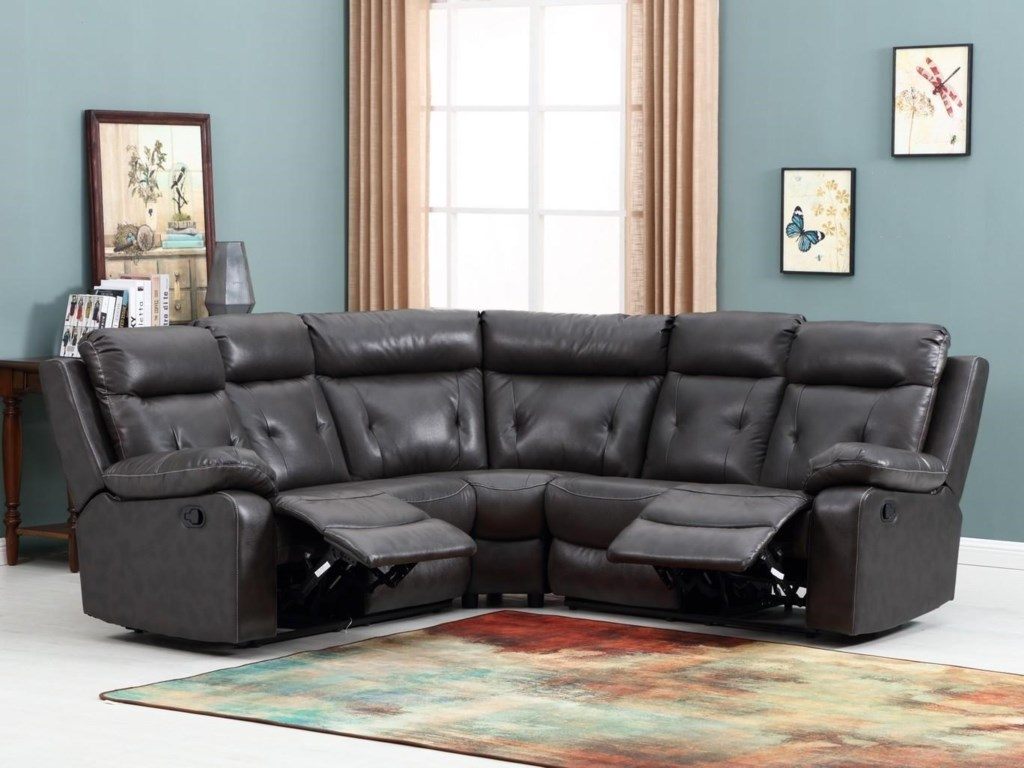 Global Furniture 9443Reclining Sofa