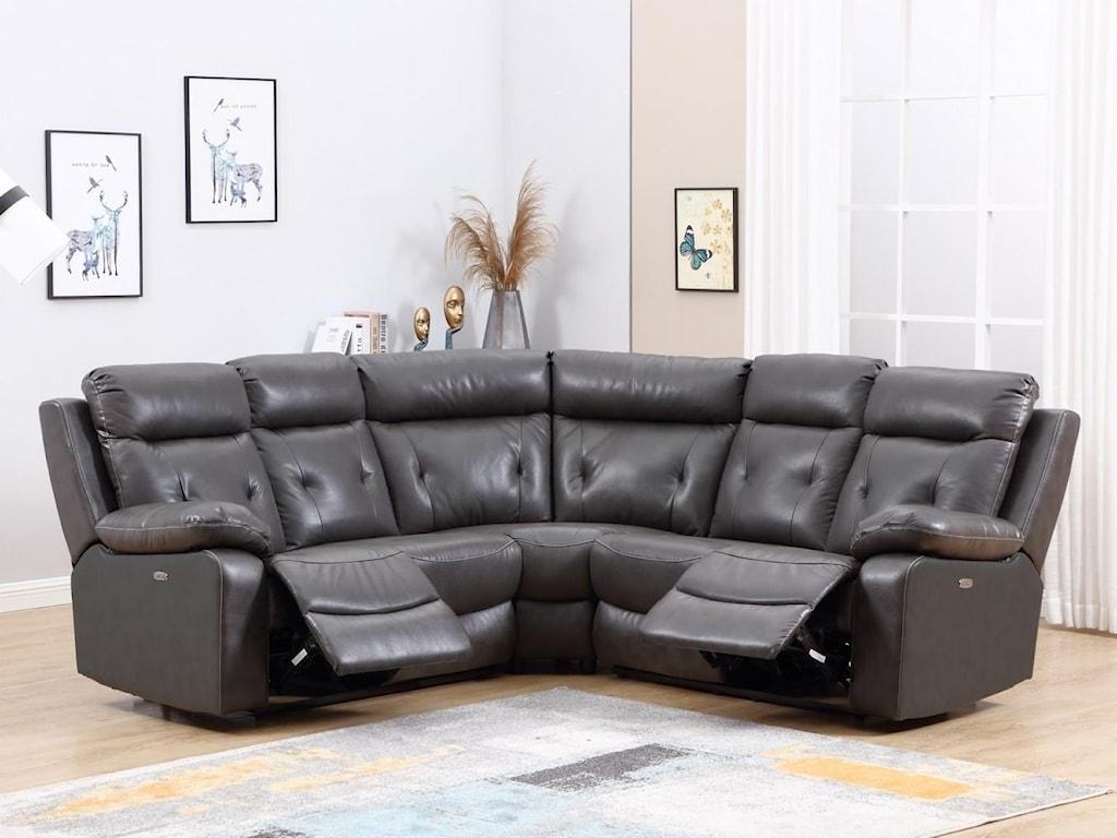 Global Furniture 9443Power Reclining Sofa