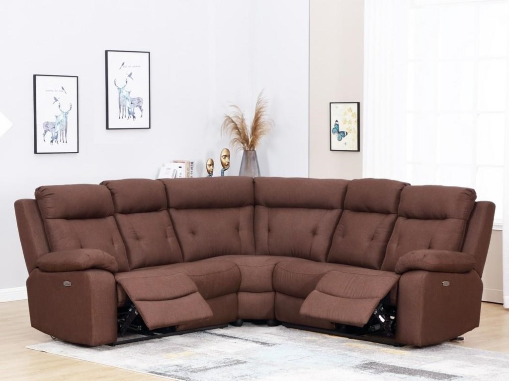 Global Furniture 9443Power Reclining Sofa