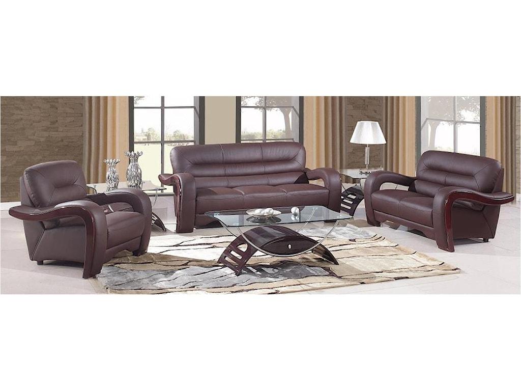 Global Furniture 992Sofa