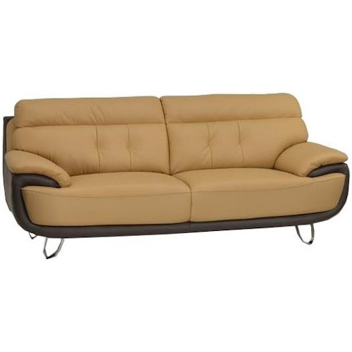 Global Furniture A159 A159 - Two-Tone Sofa