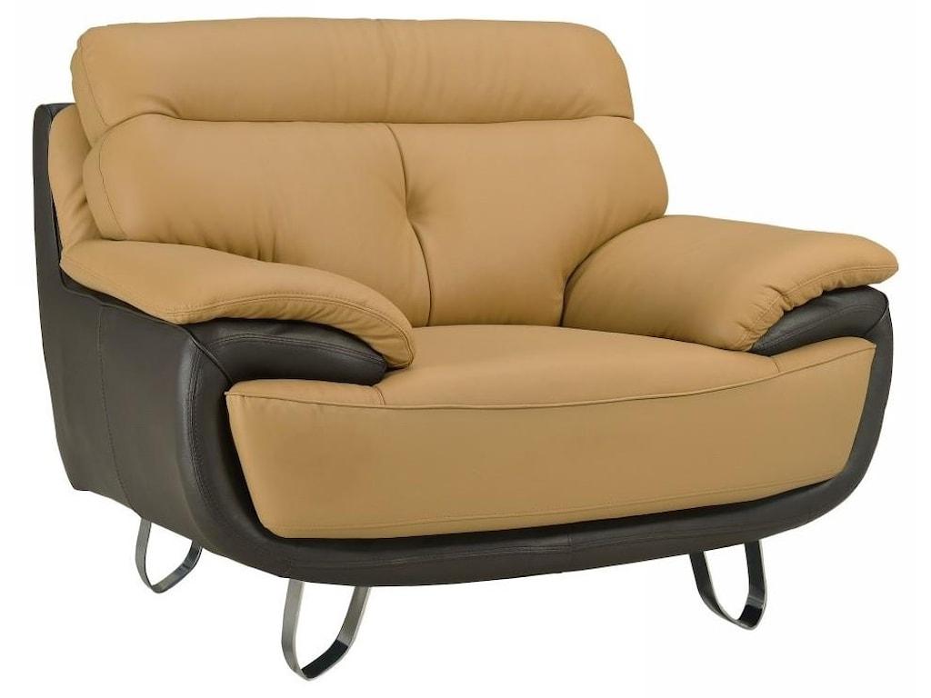 Global Furniture A159Two-Tone Chair