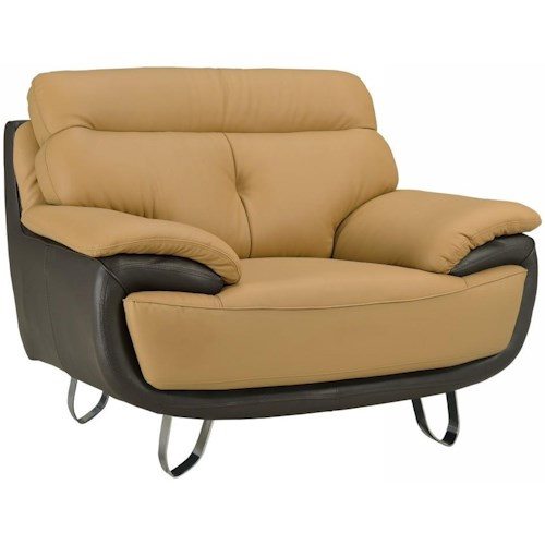 Global Furniture A159 A159 - Two-Tone Chair