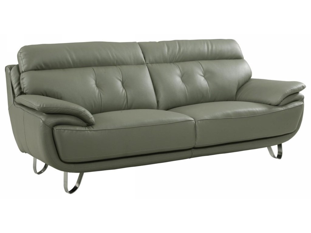 Global Furniture A159Gray Sofa