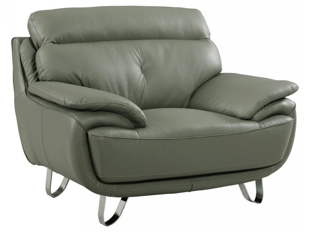 Global Furniture A159Gray Chair