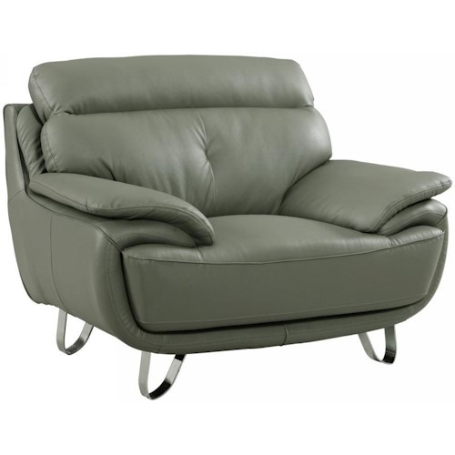 Global Furniture A159 A159 - Gray Chair