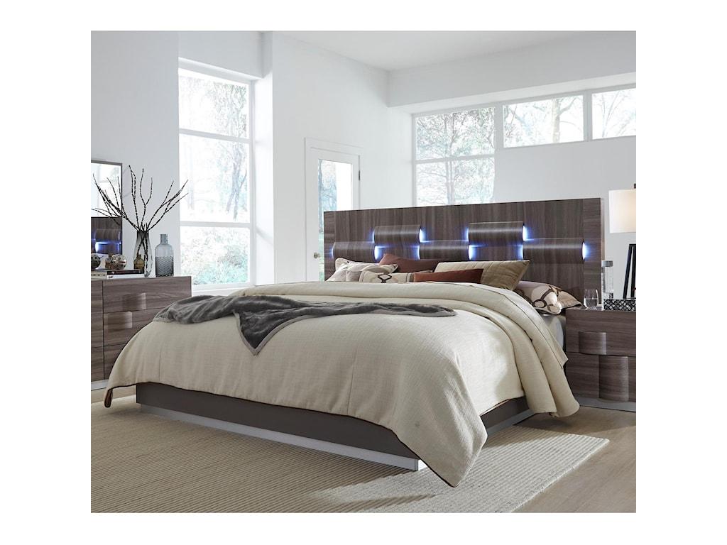 Global Furniture AdeleQueen Bed