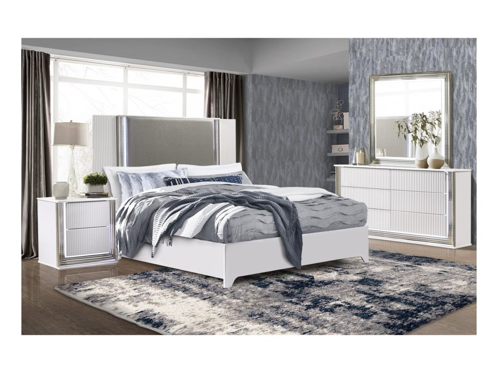 Global Furniture AspenKing Bed
