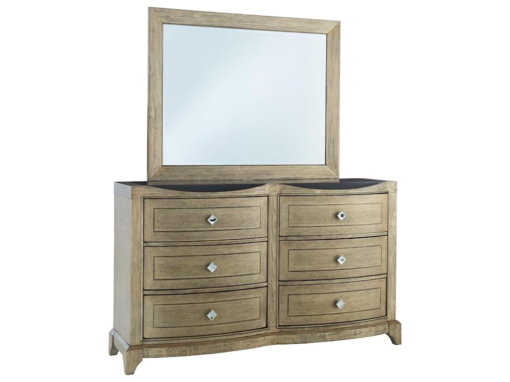 Global Furniture ATHENA Dresser