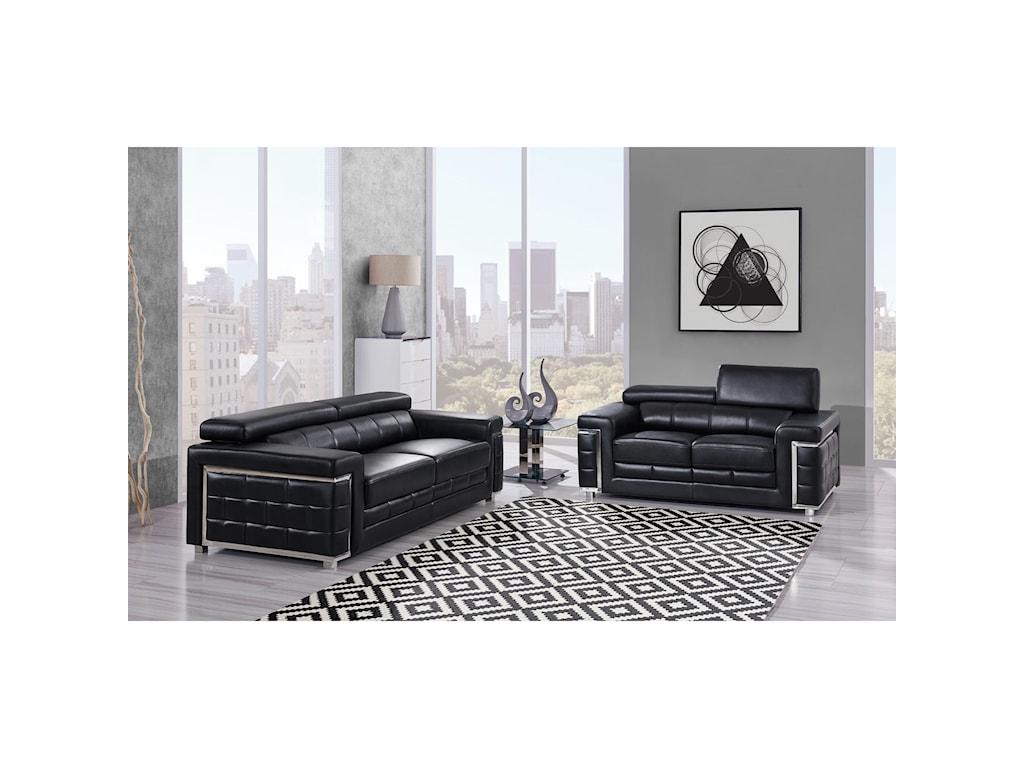 Global Furniture BlancheSofa
