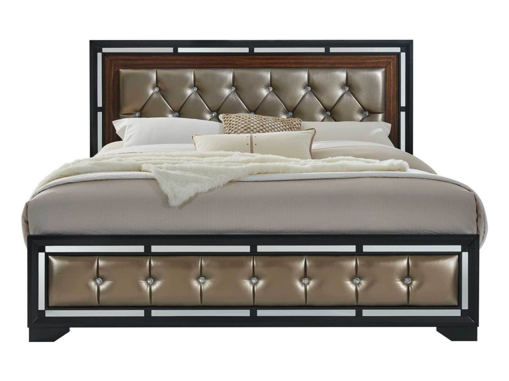 Global Furniture CamilaQueen Bed