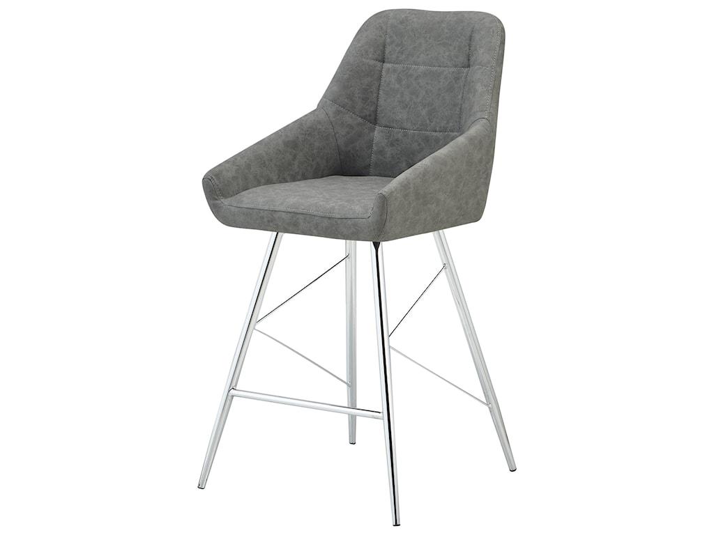 Global Furniture D1067Bucket Style Seat Barstool
