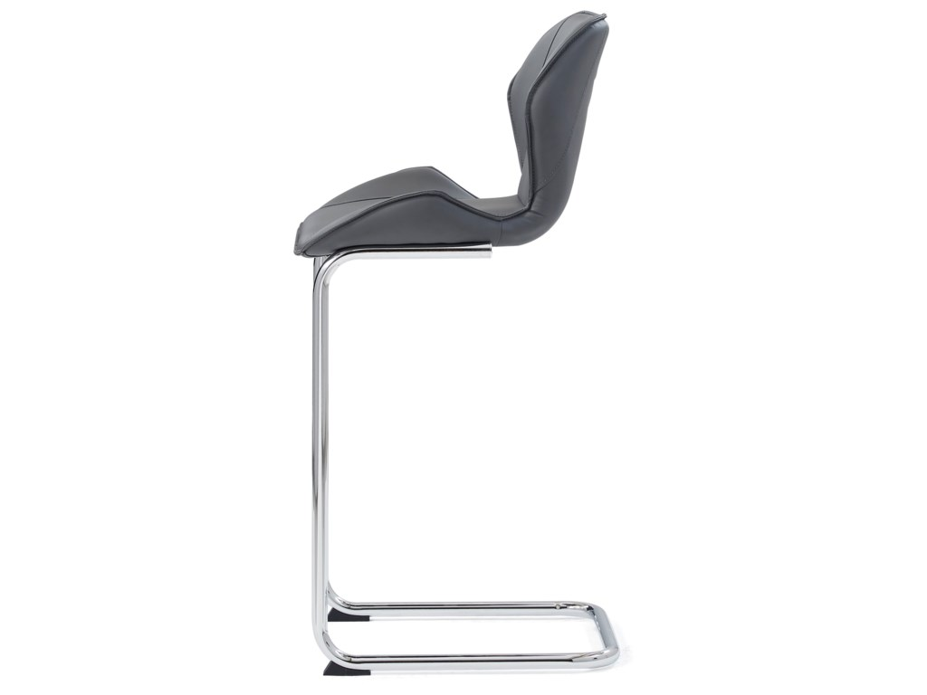 Global Furniture D1446Curved Barstool