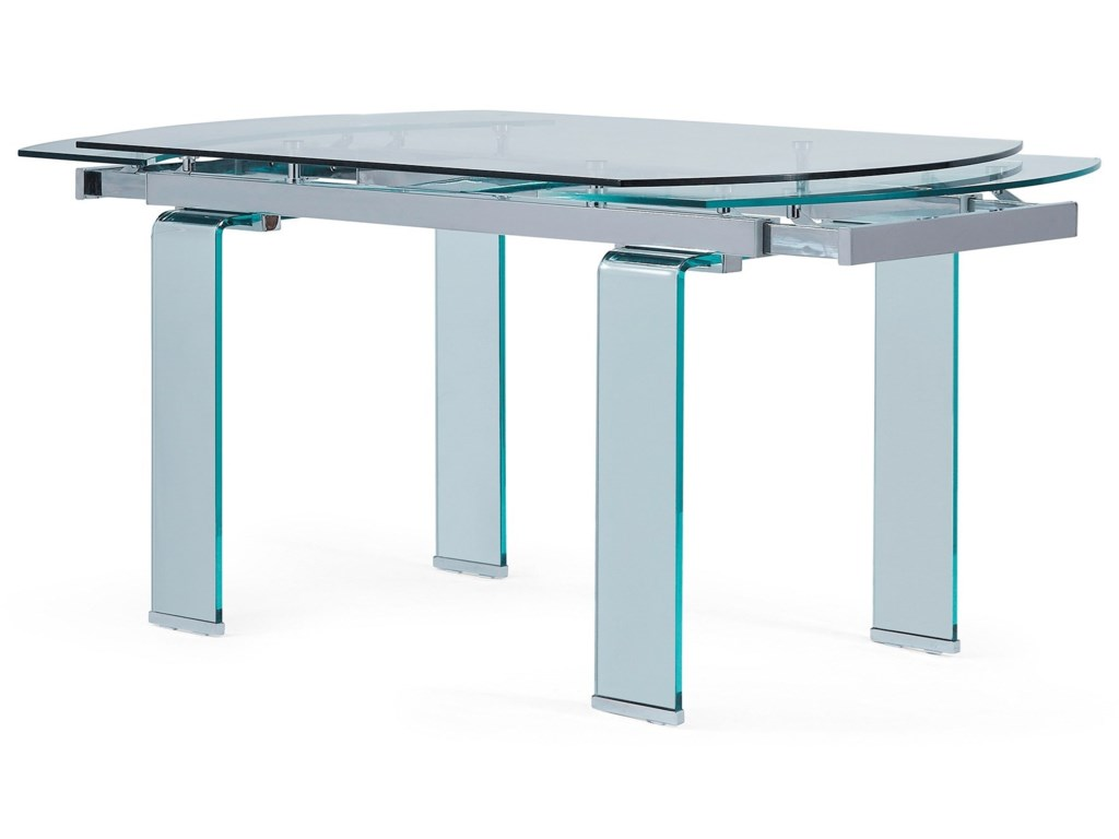 D2160 Extendable Dining Table By Global Furniture