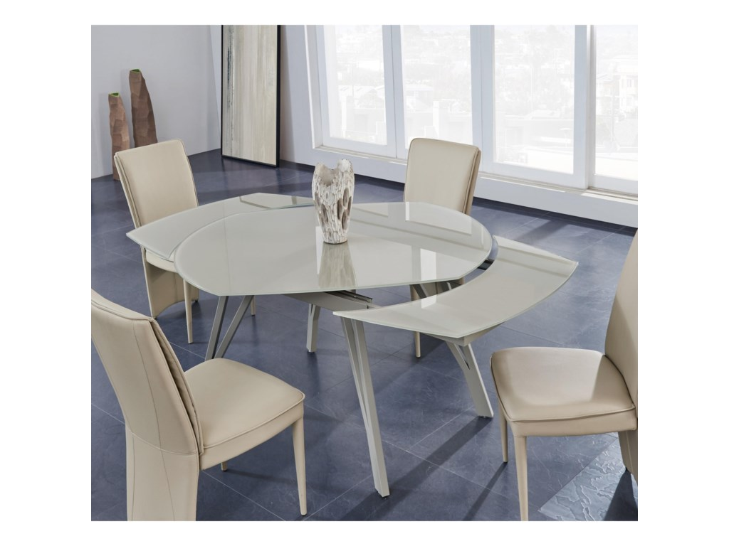 Global Furniture D2177Extendable Dining Table