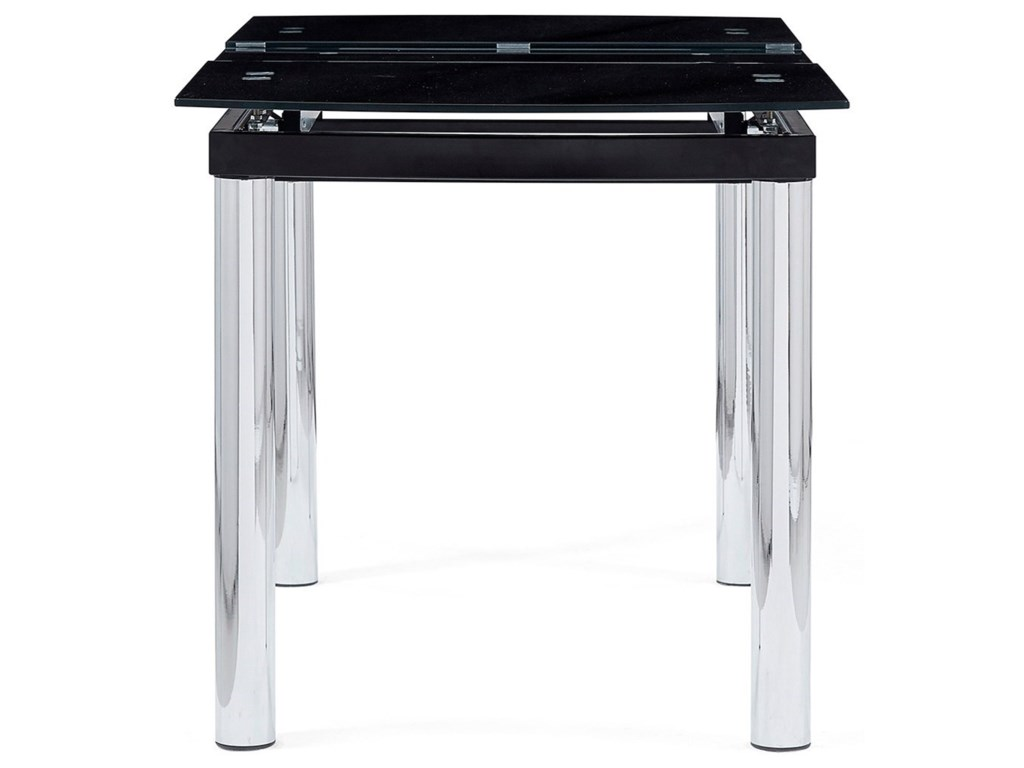 Global Furniture D30Dining Table With Chrome Legs