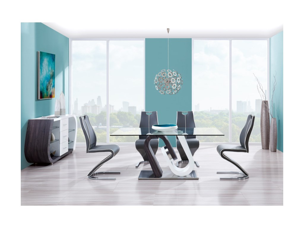 Global Furniture D4127Casual Dining Room Group