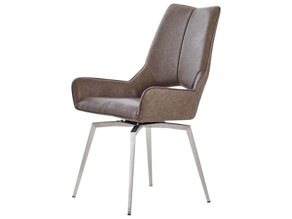 Global Furniture D4878Swivel Side Chair