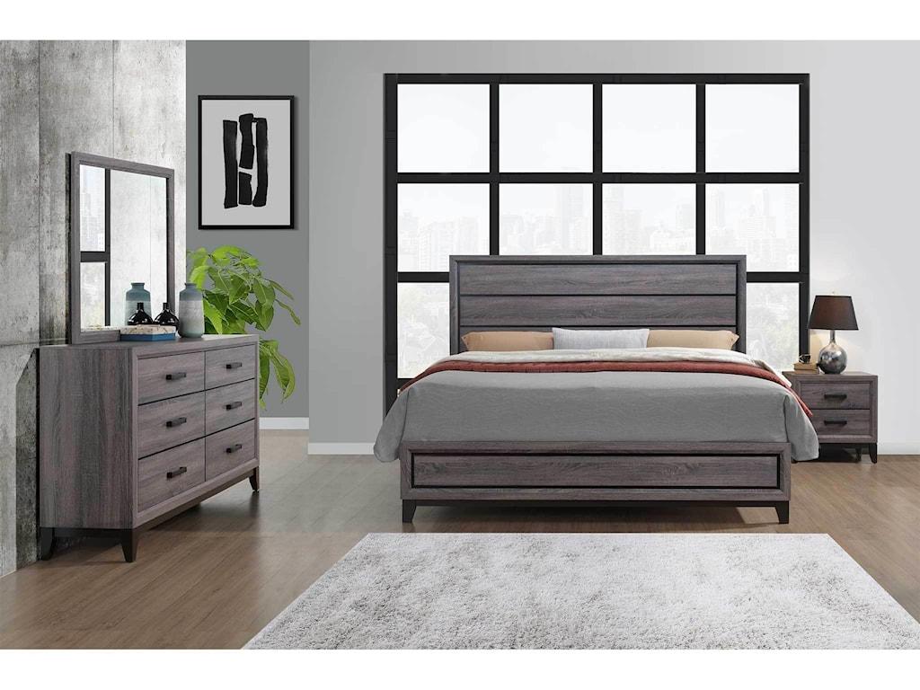 Global Furniture KateQueen Bedroom Group