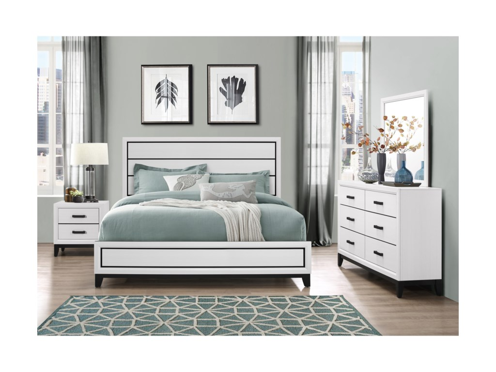 Global Furniture KateKing Bedroom Group
