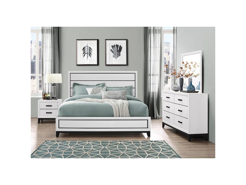 Global Furniture KateNightstand