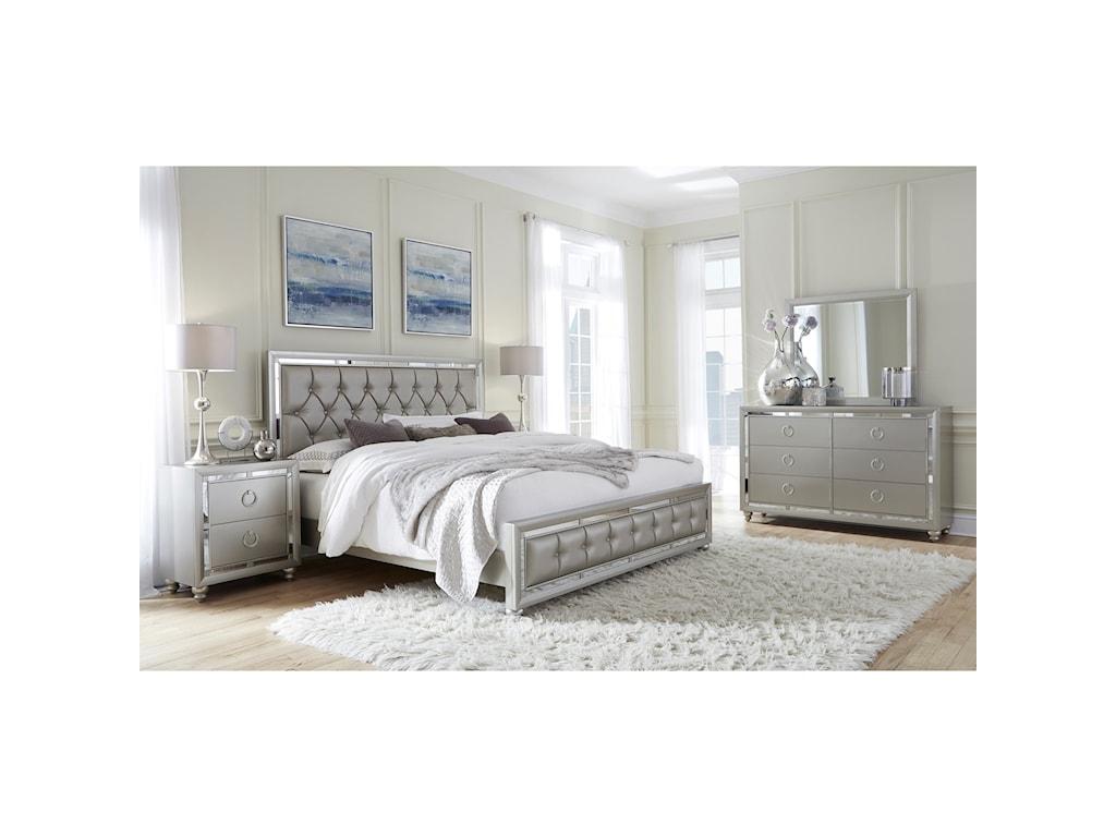 Global Furniture RileyKing Bedroom Group