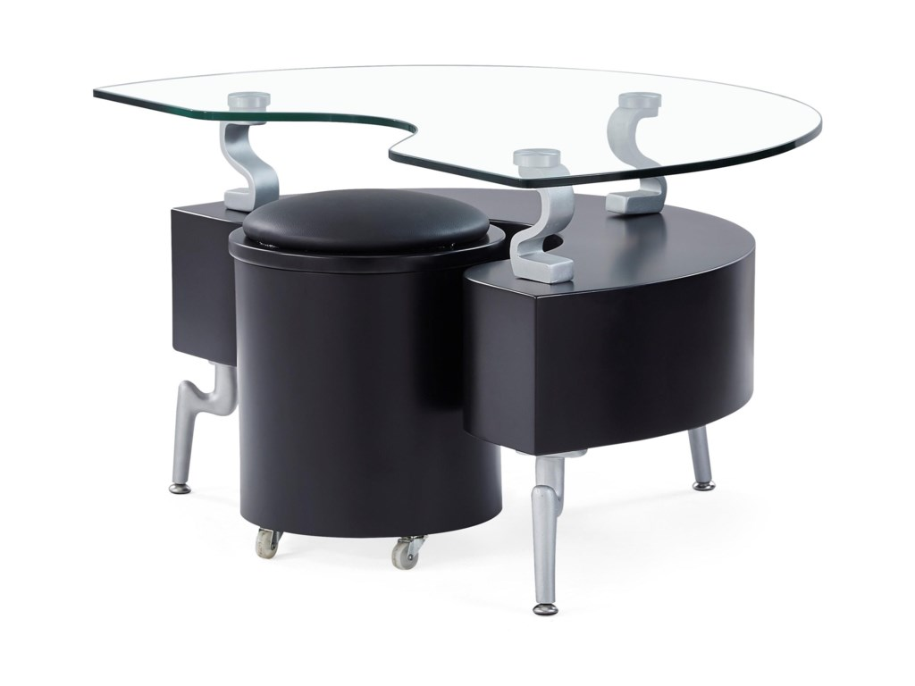 Global Furniture T288End Table With Cushions