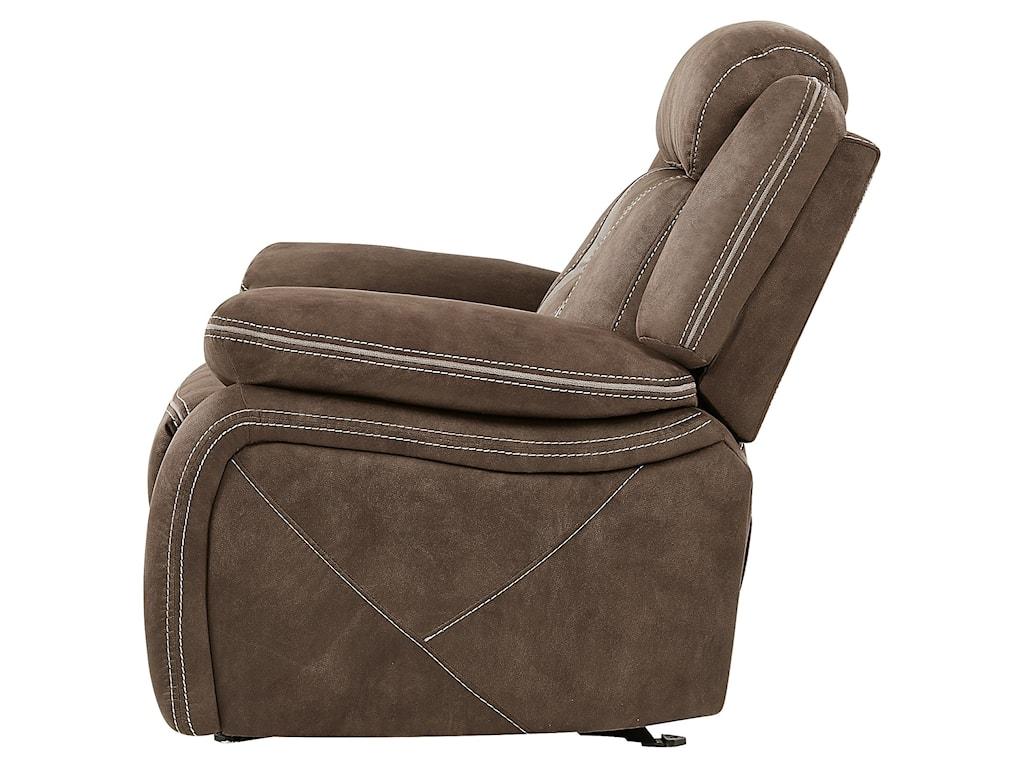 Global Furniture U0070Reclining Glider Recliner
