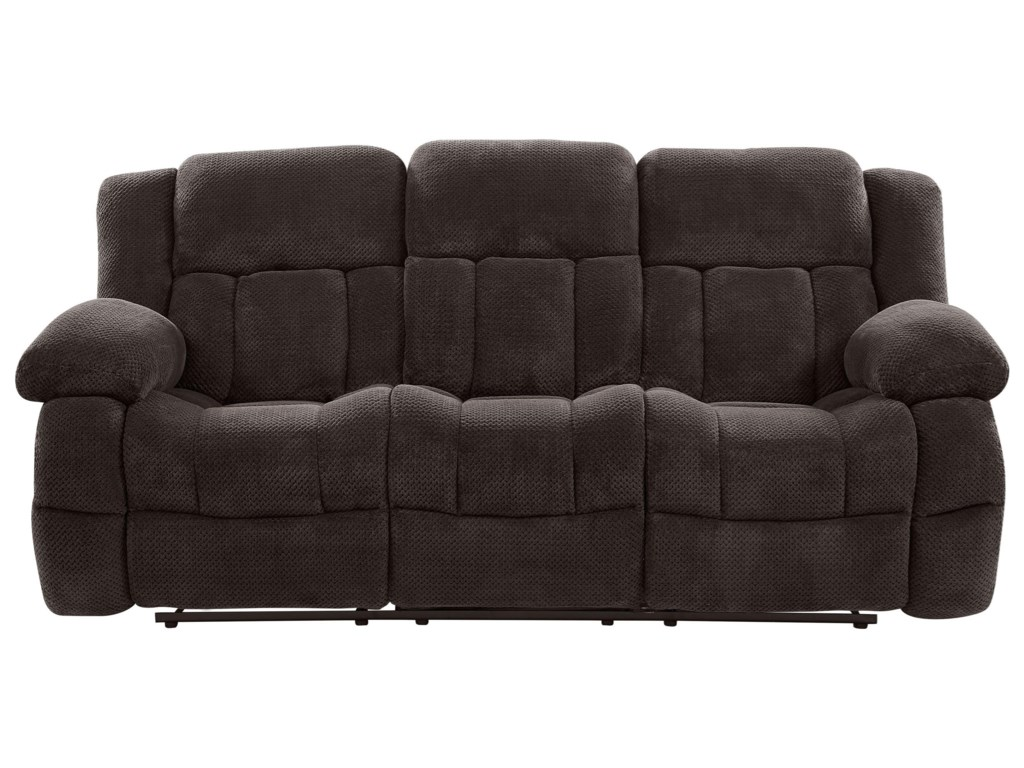 Global Furniture U1600 Reclining Sofa With Drop Down Table Value