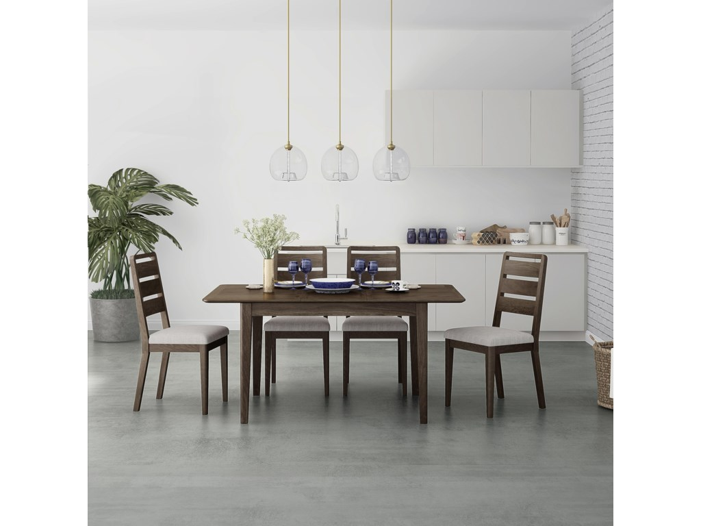 Global Home Amherst5 Piece Dining Set