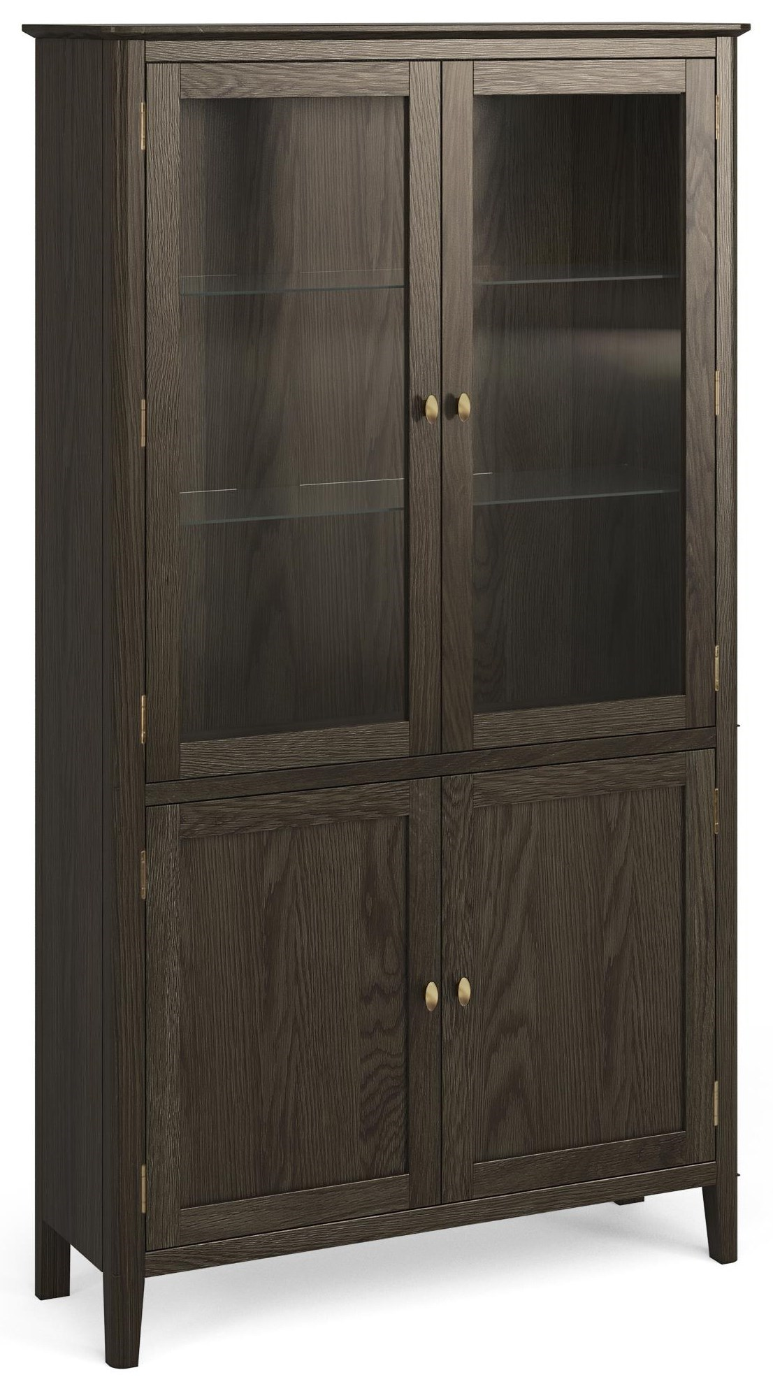 Global Home Amherst Display Cabinet | HomeWorld Furniture | Curio Cabinets