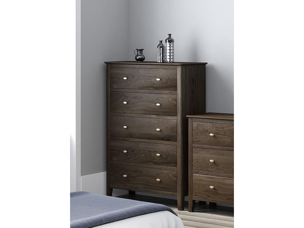 Global Home Amherst5 Drawer Chest