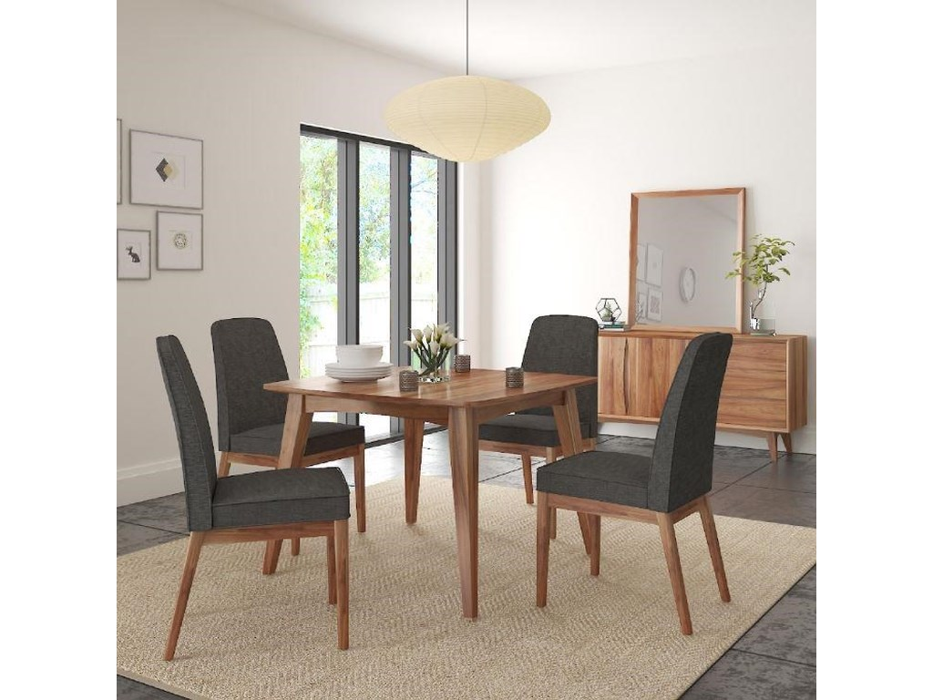 Global Home Berkeley5 Piece Dining Set