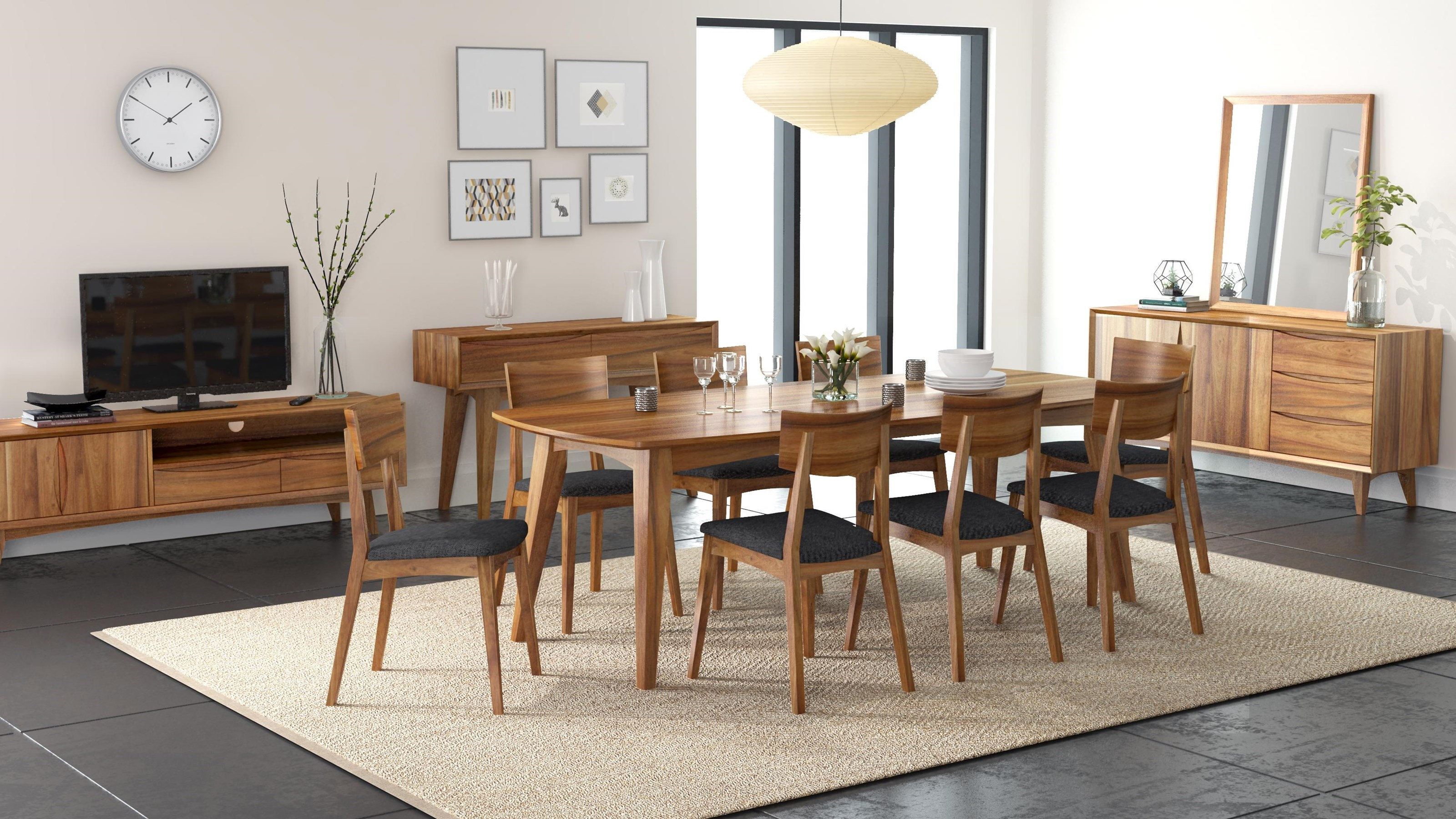 Berkeley 5 Piece Dining Package By Global Home