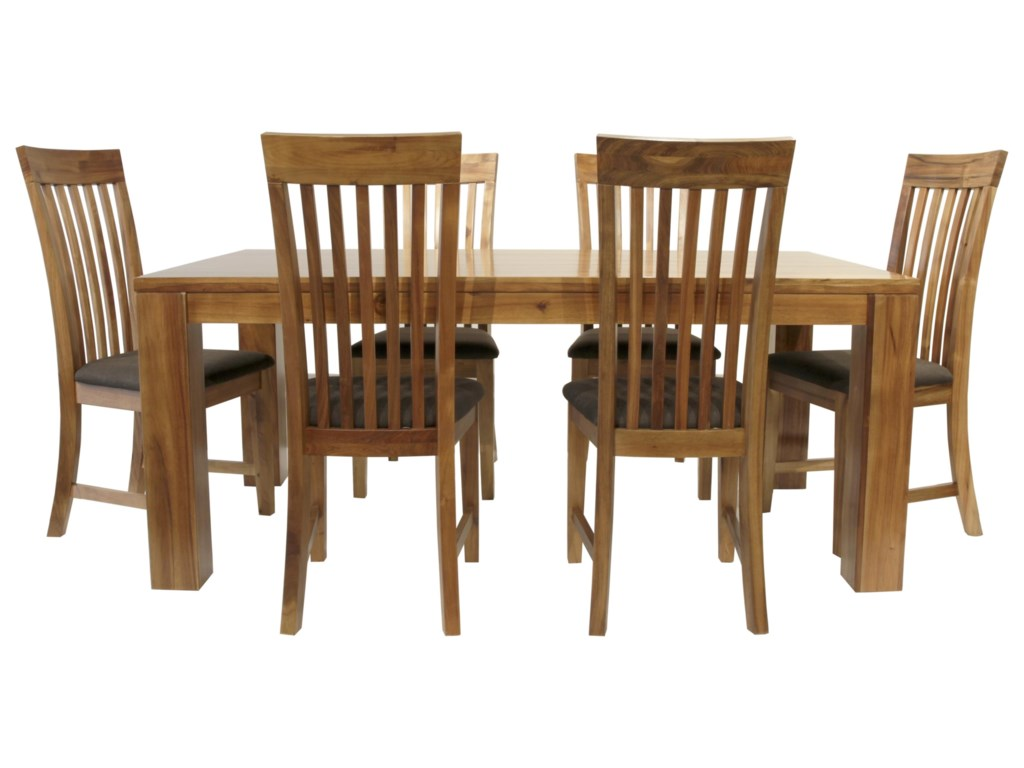 Global Home Clifton7 Piece Dining Package