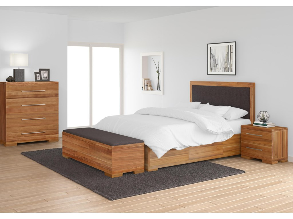 Global Home CliftonQueen Bed