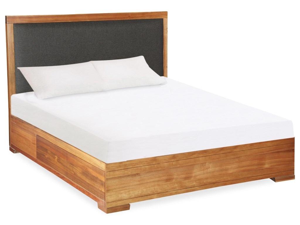 Global Home CliftonKing Storage Bed