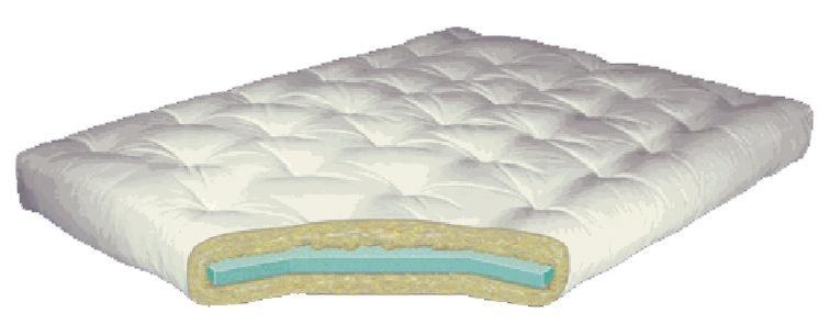 Gold Bond Mattress Company Futon Mattresses 6 Foam Cotton Futon